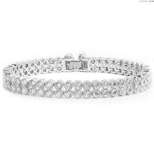 Jewelry - In box! White Sapphire Sterling Silver Bracelet